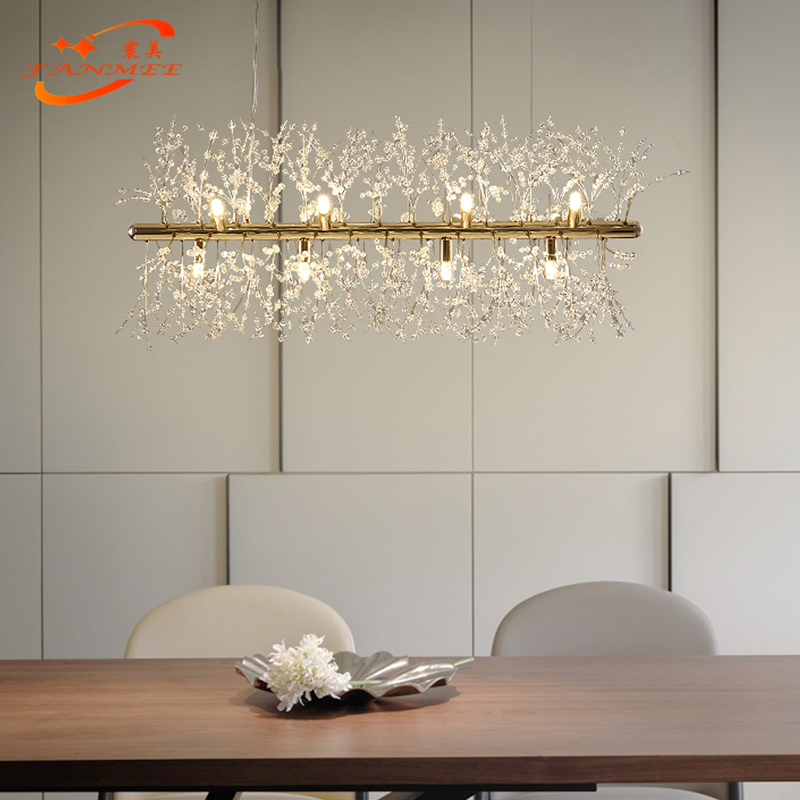 H60f2042679a74def8c913c2896557151n Modern LED Crystal Chandelier Light Pendant Hanging Lamp Dandelion Cristal Chandelier Lighting for Living Dining Room Decoration