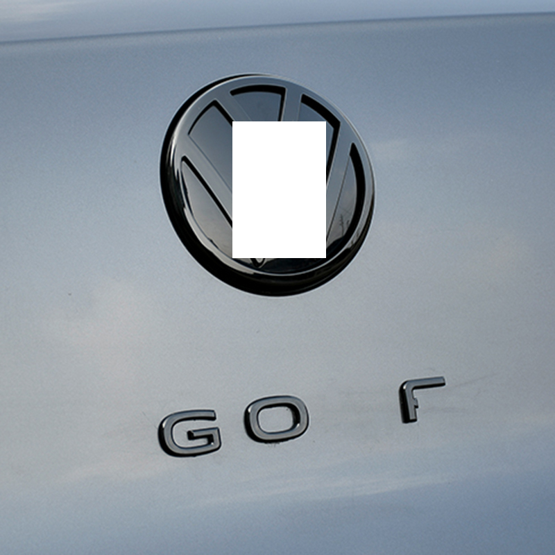 Задний багажник новый логотип гольф эмблемы наклейки для VW Golf 7 7,5 MK7 Гольф 8 MK8 аксессуары 2015 2016 2017 2018 2019 2020 2021|Наклейки на автомобиль|   | АлиЭкспресс