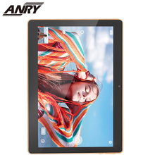 ANRY Tablets 4G Phone Call 10 Inch Android 7.0 4GB RAM 32/64GB ROM Quad/Octa Core MTK8732 Capacitive Tablet PC Dual Camera 10 1 inch teclast t20 dual 4g phone tablet pc 2560 1600 mt6797 x27 deca core android 7 0 4gb ram 64gb rom 8100mah dual wifi