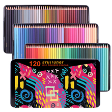 Square Barrels Colored Pencils 72/120/180/520 for Adult Artists for Coloring Books Drawing Sketching Shading Artist Students