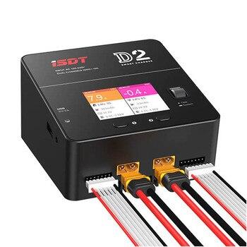 Gotowy W magazynie ISDT D2 200W 24A AC podwójny kanał wyjściowy inteligentna bateria zabawka do utrzymywania równowagi z ładowarką