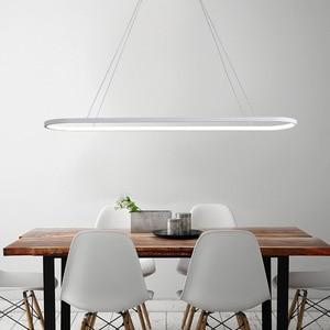 Image 4 - Пост современный светодиодный подиумный подвесной светильник Aureole для столовой, кухни, стола, подвесных светильников 2,4G с пультом дистанционного управления
