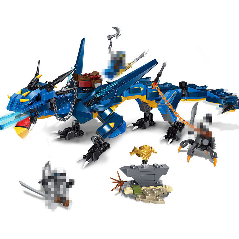 552pcs-Ninja-Series-Stormbringer-Set-Dragon-Compatible-With-LegoINGLY-Ninjagoes-70652-Model-Building-Blocks-Bricks-Toys
