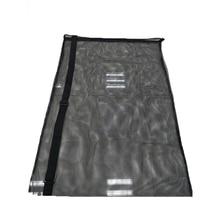 Mesh Bag Drawstring Large Capacity Organizer Durable Basketball Volleyball Black Adjustable Strap Football Storage Carry Sports