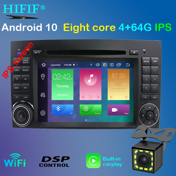 DSP IPS Android 10 2din GPS Carplay For Mercedes Benz Sprinter B200 W209 W169 W169 B-class W245 B170 Vito W639 multimedia player image