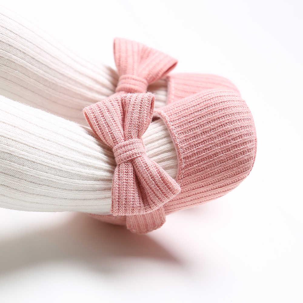 Colores dulces bebé recién nacido preandador suave fondo antideslizante zapatos calzado clásico princesa niña cuna María zapatos grandes flores