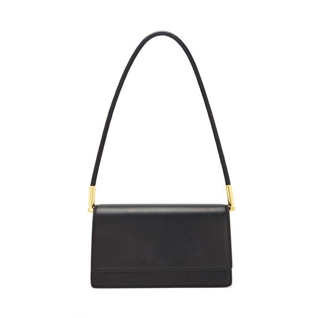Customized Letters Luxury Bag Genuine Leather Shoulder Bag New Fashion Ladies Handbag Designer Messenger Bag Under Arm Purse