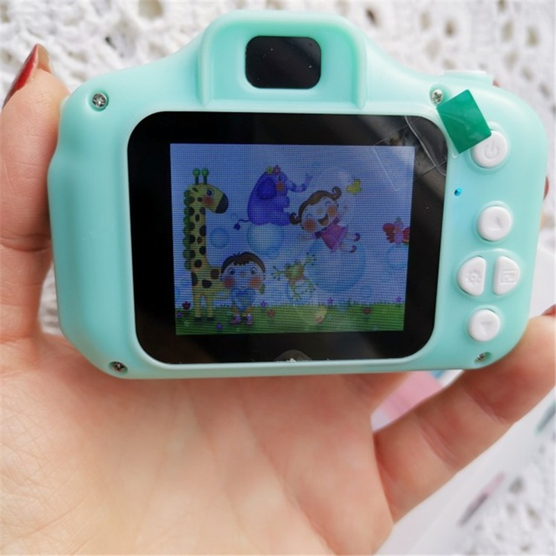 Children's Digital Camera 2 Inch Screen Rechargeable Educational Toys For Children Mini Cameras Baby Girls Boys Birthday Gift