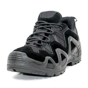 Image 5 - Size 39 44 Outdoor Men Waterproof Hiking Shoes Military Boots for Men Tactical Boots Desert Trekking Shoes Men buty trekkingowe