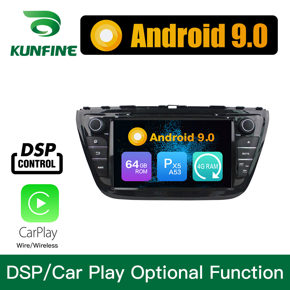 Android 9.0 Octa Core 4GB RAM 64GB Rom Car DVD GPS Multimedia Player Car Stereo for <font><b>SUZUKI</b></font> <font><b>SX4</b></font> <font><b>2014</b></font> 2015 Radio Headunit image
