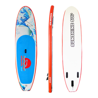 Genre Painting Pattern Inflatable Stand UP Paddle Board