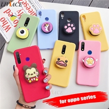 3D cartoon phone holder case for oppo re