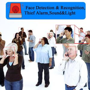 Image 2 - Facial Recognition Camera System H.2654CH 1080P POE Security Camera System Retail Security Alarm System People Counter