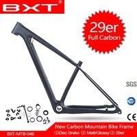Frete grátis quadro de bicicleta montanha carbono 29er bsa mtb bicicleta 142/148*12mm impulso max fit 2.3 pneus para mountain bike