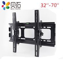 BEISHI TV Wall Bracket Mount For Most 32 70 inch LED, LCD, Flat and Curved TVs, Tilt TV Mount Max VESA 600x400mm, Up to 50Kg