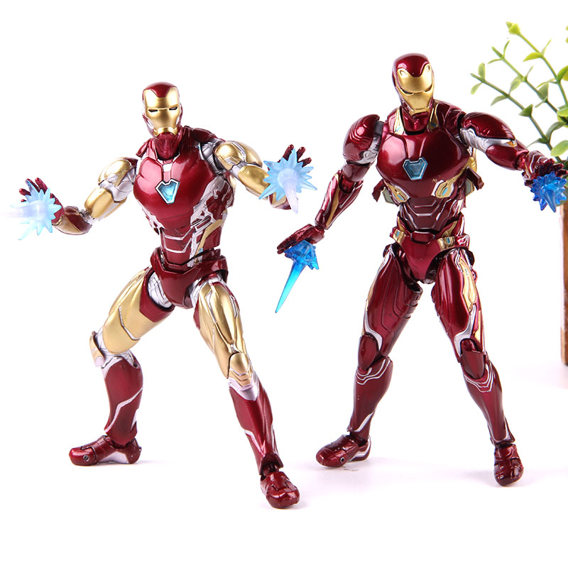 Marvel Iron-Man MK50/MK85 Avengers Endgame PVC Collection modèle jouet Ironman Nano arme SHF figurine