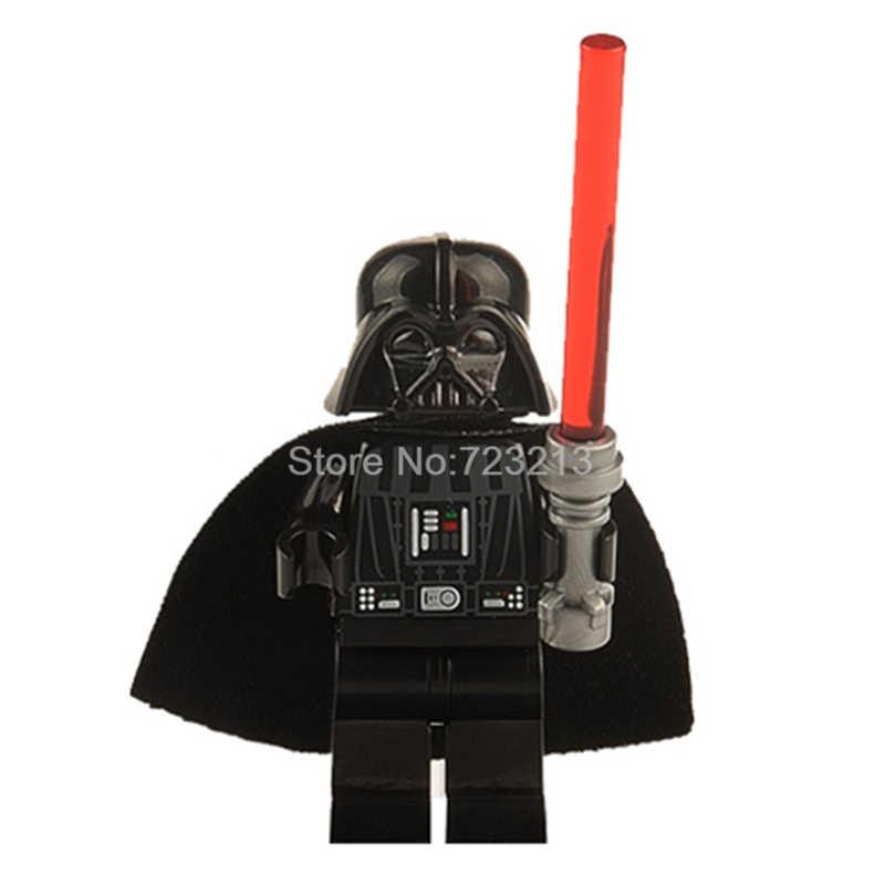 Enkele Koop Starwars Darth vader Figuur Darth Maul Revan Anakin Bouwstenen Set Model Kits Bricks Speelgoed voor Kinderen Legoing