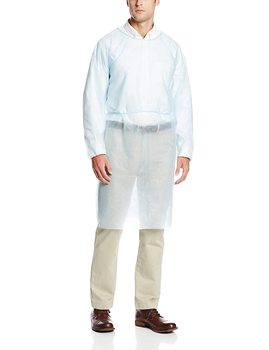 цена на Protective Isolation Gown Clothing Overalls Isolation Suit Disposable Antistatic Dust Anti-  Splash Resistant