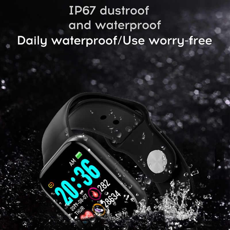 Orologi smart Impermeabile Frequenza Cardiaca Della Vigilanza Wristband di Sport Orologi SmartBand Smartwatch Android Astuto Della Vigilanza