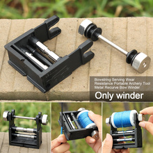 Recurve Bow Winder Accessories Wear Resistance Bowstring Serving  Equipment Archery Tool Portable Universal Thread Cable