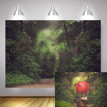 Bokeh Fairy Tale Forest Photography Backdrop Newborn Baby Birthday Artistic Background Photo Studio Children Portrait Photocall children birthday party selfie photo background decoration newborn baby kids portrait backdrop photography photo shoot photocall