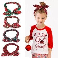 Hair-Accessories Headband Ears Christmas-Gift Joy-Enlife for Women Ties Fashion Bunny