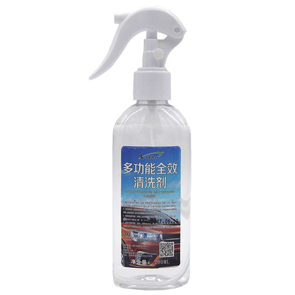 Multifunctional Foam Cleaner Almighty Water Cleaner Car Interior Cleaner Car Wash Liquid Car Foam Cleaner