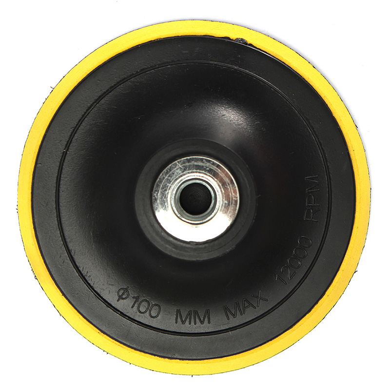 Polishing Pad Backing Pad Sanding Pad Pads M14 For Polishing Machine New K1 Thread Diameter 100MM Grinding Discs