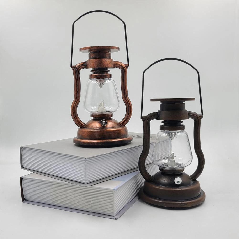 Solar Retro Lantaarn Warm Wit Ip65 Waterdichte Opknoping Licht Multifunctionele Decoratie Voor Outdoor Tuin Solar Lamps Aliexpress