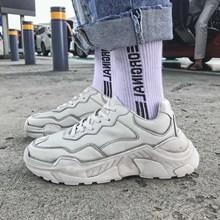 Ins skull dad Sneakers Men Autumn Thick Bottom Vintage Dirty Shoes hip hop Tenis Masculino Adulto Zapatos De Hombre