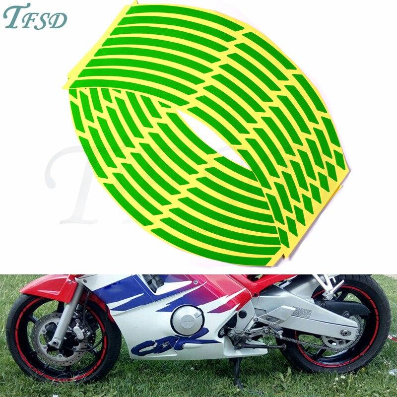 2 Tonos de Ar/ándano Motocicleta Moto Llanta Decal Accesorio Pegatinas para Suzuki Vstrom