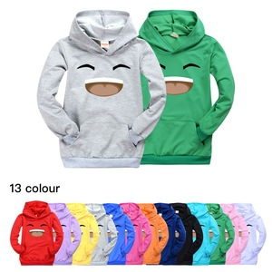 Jelly Green 2020 Unisex Lovly Kids Sweatshirts Hoodie Baby Girls Clothes Cartoon Long Sleeve Boys Hoodies Clothes For Children