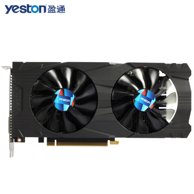 Yeston GTX1050Ti-4G-D5 1291-1392MHz/7008MHz <font><b>4GB</b></font> 128Bit GDDR5 Gaming Video Graphics Card DVI HDMI DP output for Computer Gamer image