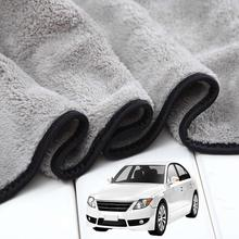 Окна мыть микрофибра автомобиль 100x40cm авто детализация очистки сильная Абсорбциа воды сушка ткань для дома аксессуары для автомобилей