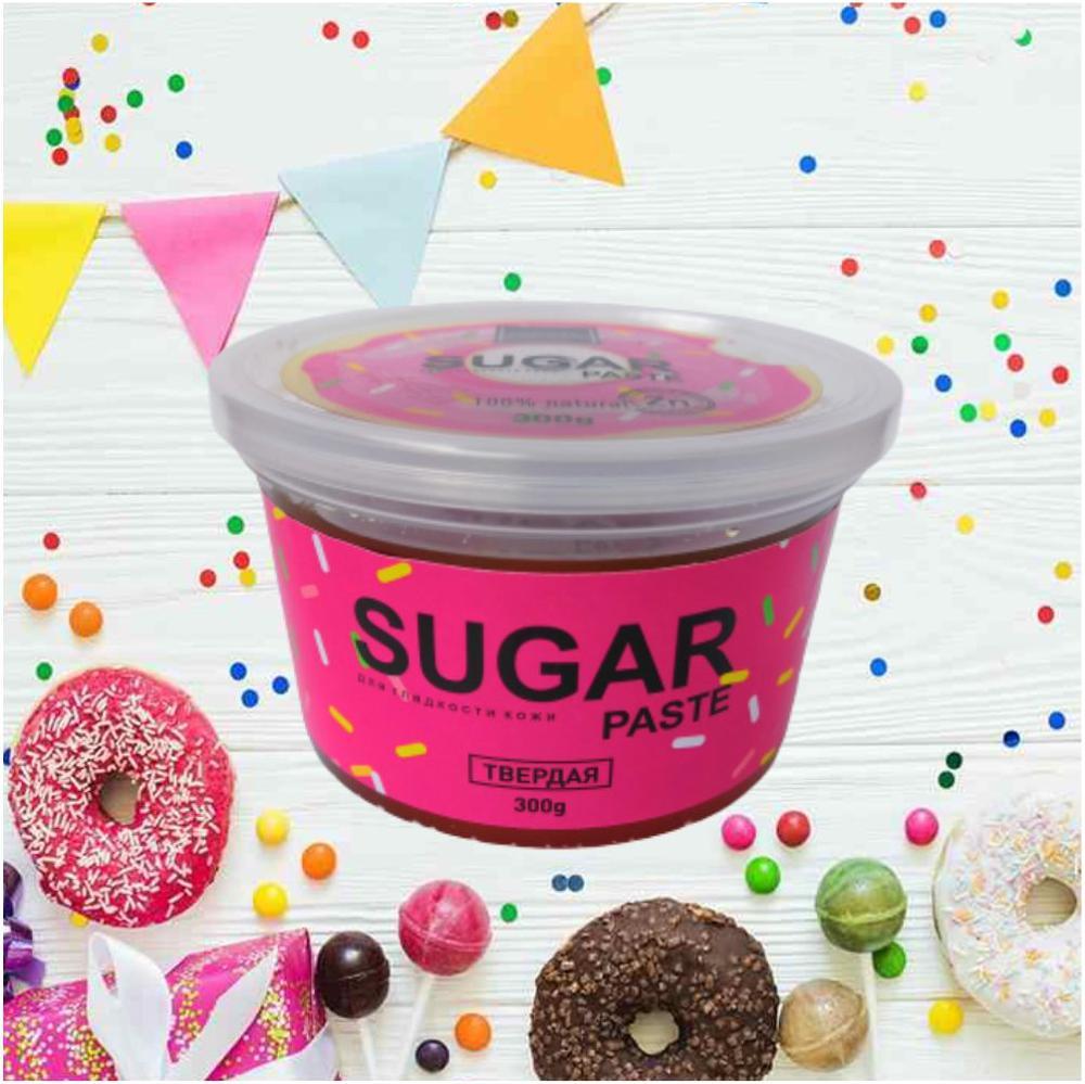 BIETTE Сахарная паста для шугаринга Плотная, 300 гр / Доказанная защита от воспалений и вросших волос
