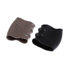 Funda de guante antideslizante para la mayoría de Glock 17 19 20 21 23, accesorios de caza, pistola táctica, funda de goma