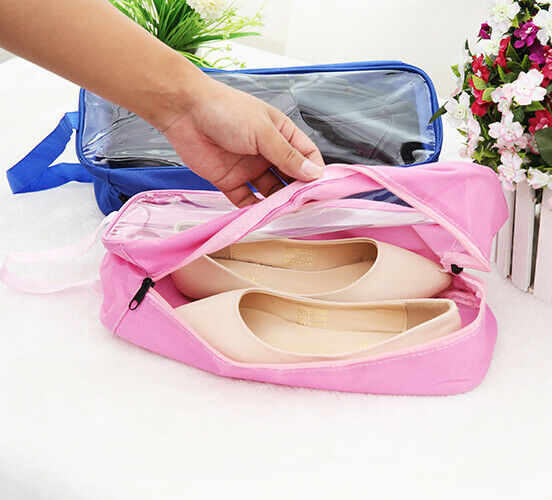 Portable Waterproof Travel Storage Shoe Pouch Shoes Organizer Bag Zip Case 2020 Fashion Dust-proof Shoes Storage Bag