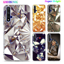 Silicone TPU Cover Crystal Diamond for Huawei Honor 10i 9X 8X 20 10 9 Lite 8 8A 7A 7C Pro Lite Phone Case(China)