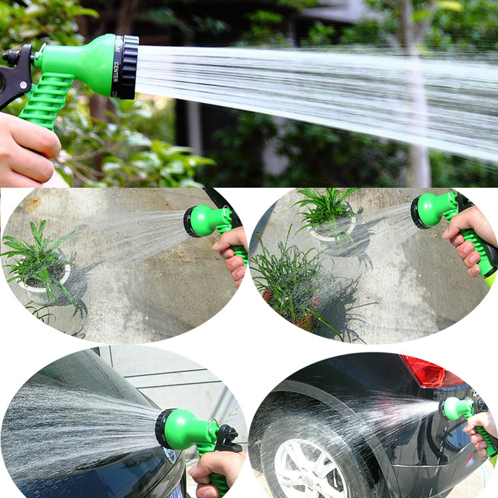 Garden-Water-Spray-Lawn-Sprinkler-Car-Wash-Water-Gun-Ajustable-Hose-Nozzles-7-Pattern-High-Pressure
