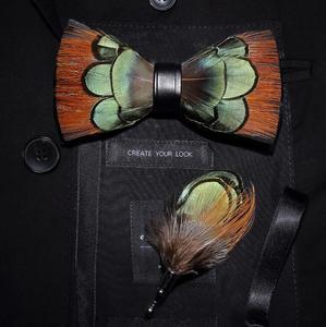 Image 2 - Ricnais lot de broches à nœud papillon