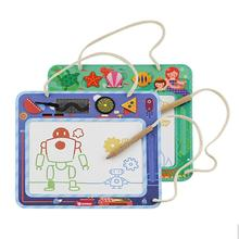 Portable panel Colorful Magnetic Drawing Board Large Writing for Baby Painting Graffiti Erasable Doodle Toy