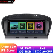 6 core Android 9.0 Auto dvd-speler GPS navigatie voor BMW 5 Serie E60 E61 E63 E64 E90 E91 E92 e93 4G RAM 32G ROM auto multimedia(China)