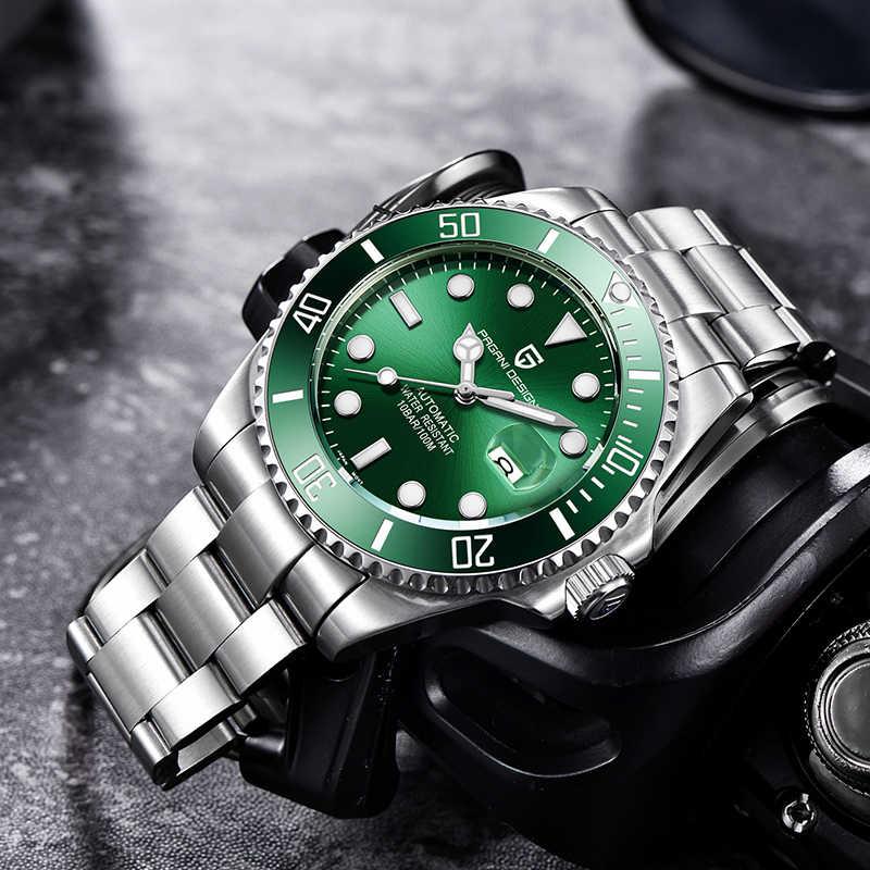 PAGANI DESIGN nowe mechaniczne męskie zegarki marki luksusowe automatyczne sportowe wodoodporny zegarek zegar mężczyźni Relogio Masculino PD1639