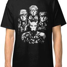 Jojo's причудливый x queen Bohemian Rhapsody мужская одежда футболки с принтом Футболка мужская одежда с коротким рукавом Топ Футболка