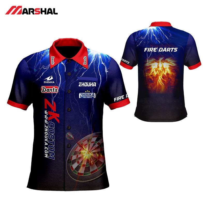 2019 New Shoot Darts Men's T Shirt Customizing Make Your Design Color Shooting Shirt For Adult