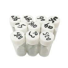 10 garrafas/lote com chumbo bga reballing bolas de solda (0.25 0.3, 0.4, 0.45, 0.5, 0.55, 0.6, 0.65, 0.76) solda ferramenta de reparo