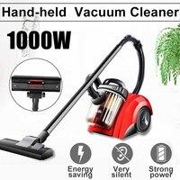 المحمولة 1000W يد مكنسة كهربائية المنزلية منخفضة الضوضاء فراغ نظافة شفط قوي المنزل الشافطة مجمع الغبار|مكانس كهربائية|   -