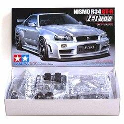 Tamiya 24282 Modell Auto Montage Gebäude Kits 1/24 Skala Nismo Skyline GTR R34 Z-Tune Spielzeug Für Kinder Und erwachsene