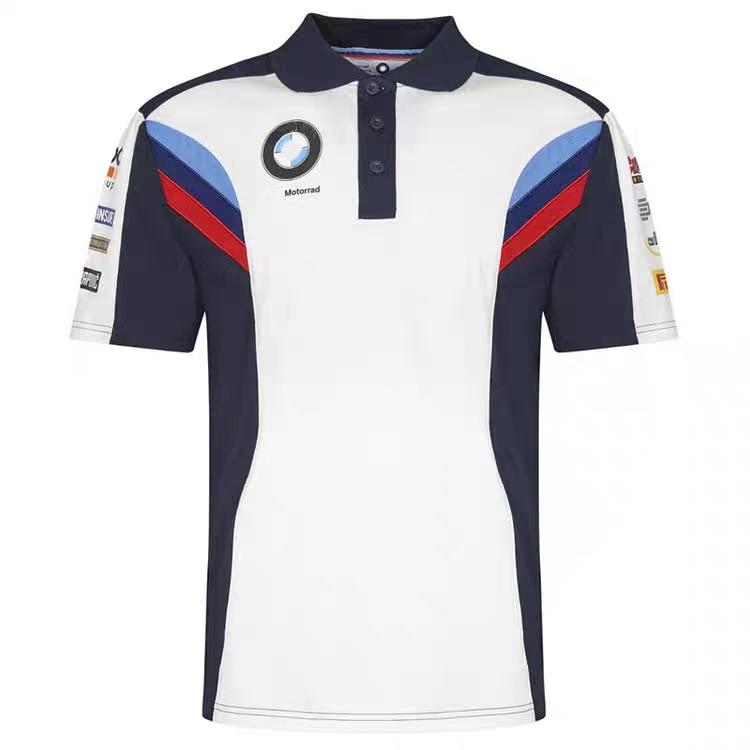 2020 мотогонок мотоцикл поло одежда мотокросса мото футболка для верховой езды мужская с коротким рукавом дышащая повседневная одежда для bmw