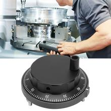 Encoder Cnc Pulser Handwheel Pulse-Generator Manual 5V 80mm 100PPR Black Protection-Circuit